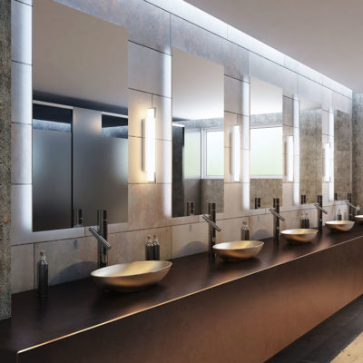 3d visualization bathroom rendering commercial bathroom sinks and lighting 2786 2