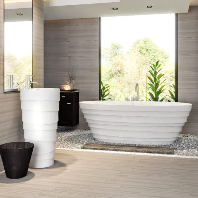 3d visualization bathroom rendering tub lifestyle 2854