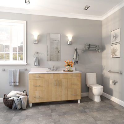 3d visualization bathroom rendering vanity in light balance 3820