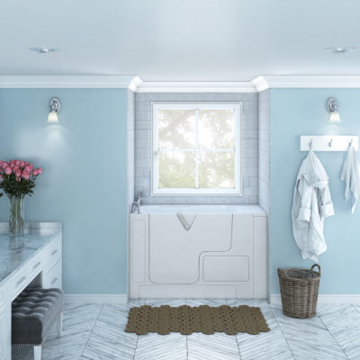 3d visualization bathroom rendering vintage bathroom with chic vanities 3301 1