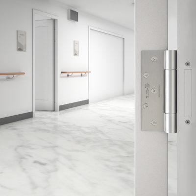 3d visualization close up rendering hidden hinge door 3345