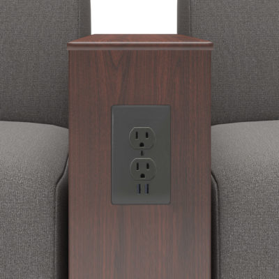 3d visualization close up rendering power source furniture