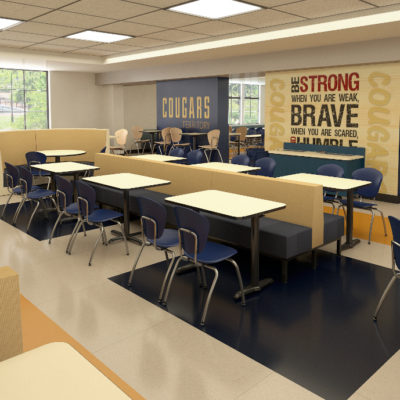 3d visualization educational rendering architectural rendering classroom