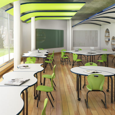3d visualization educational rendering collaborative classroom 2482 2