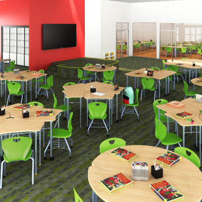 3d visualization educational rendering early leaning
