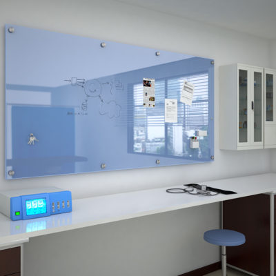 3d visualization healthcare rendering glass writing board 2394 2