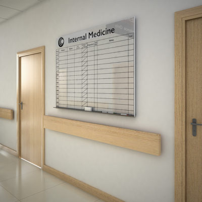 3d visualization healthcare rendering hospital corridor 2394 3