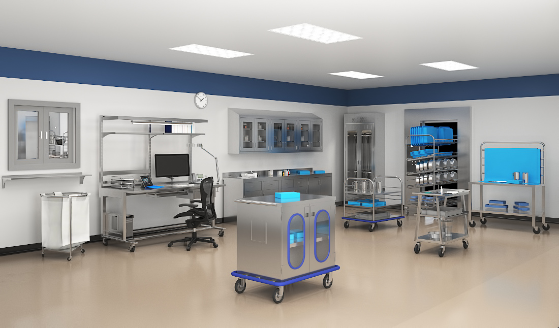 3d visualization healthcare rendering medical lab equipment 3849 2