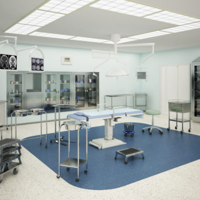 3d visualization healthcare rendering operating room 3614