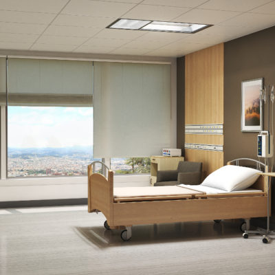 3d visualization healthcare rendering patient room 3910 2