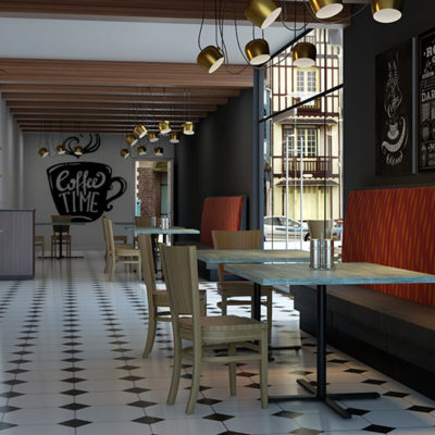 3d visualization hospitality rendering coffee shop 2722 6