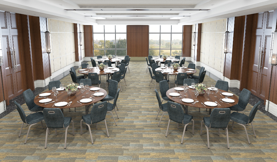 3d visualization hospitality rendering conference center 3647 2
