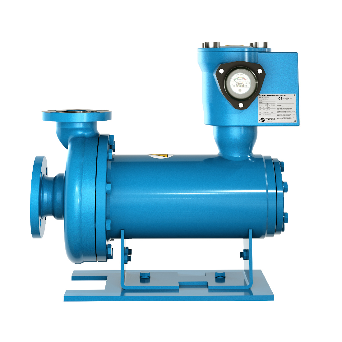 3d visualization industrial rendering pump product 2
