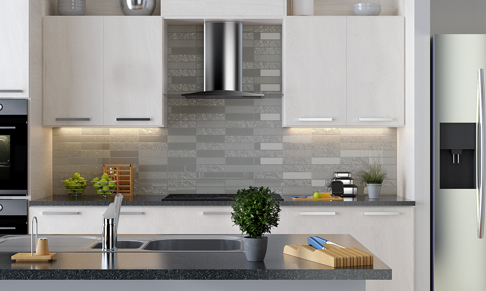 3d visualization kitchen rendering backsplash 3006