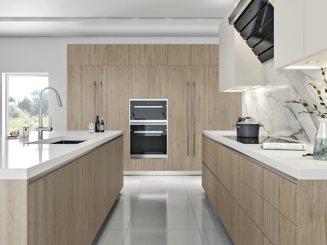 3d visualization kitchen rendering kitchen space 3521 C3 V4