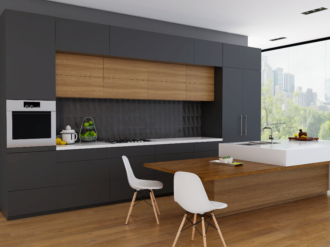 3d visualization kitchen rendering modular kitchen interior 2738 V2