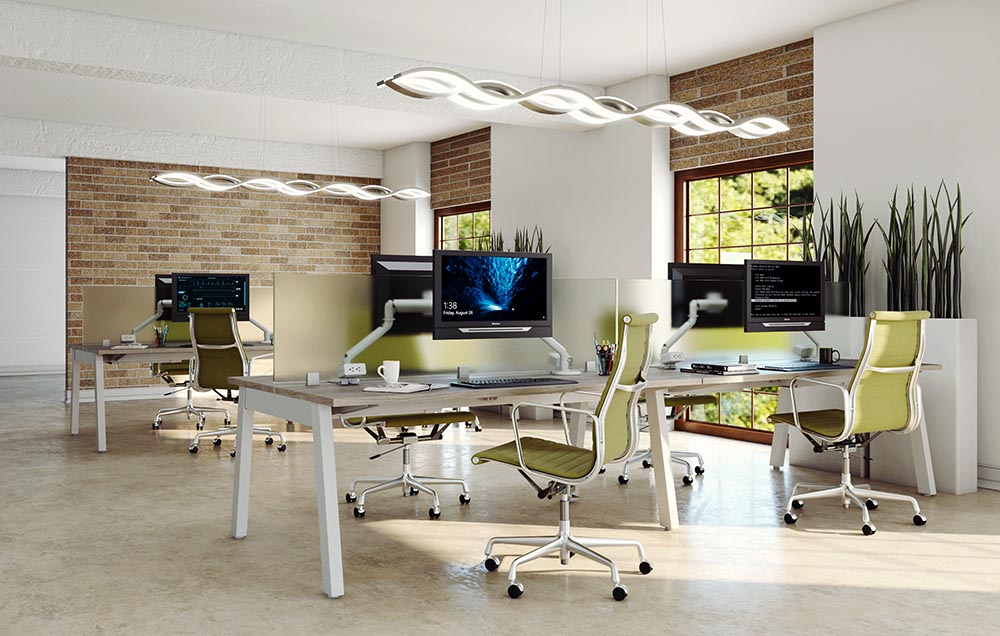 3d visualization lighting rendering workspace 3236