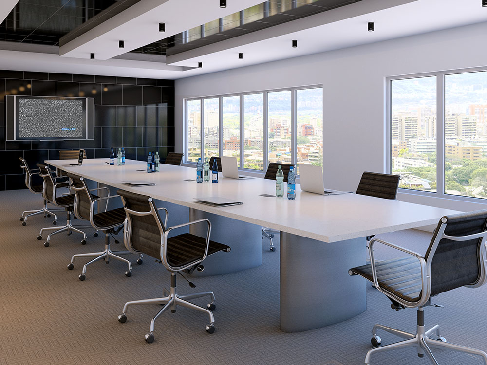 3d visualization office rendering conference room 2659 9