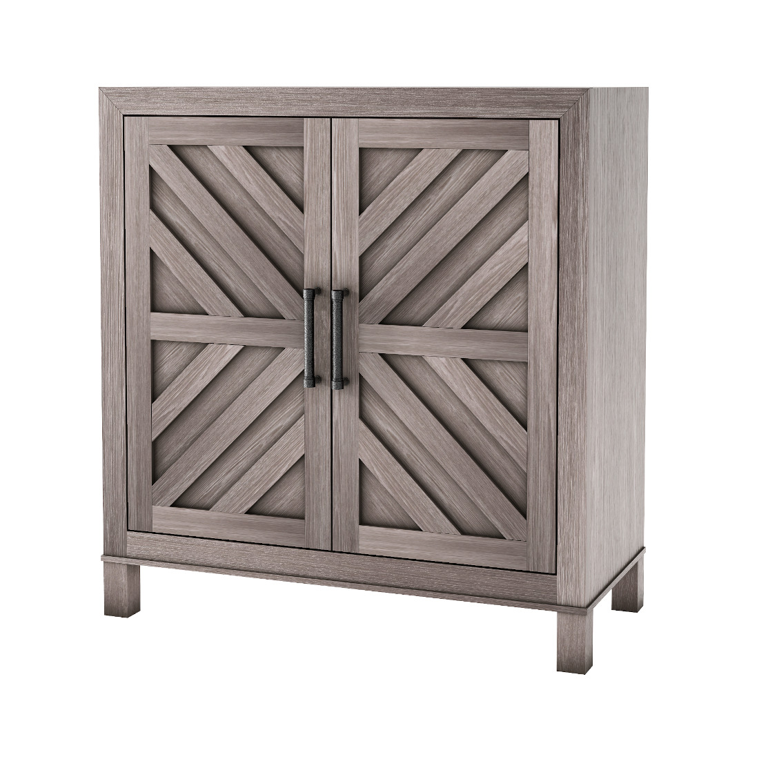 3d visualization white background rendering accent cabinet