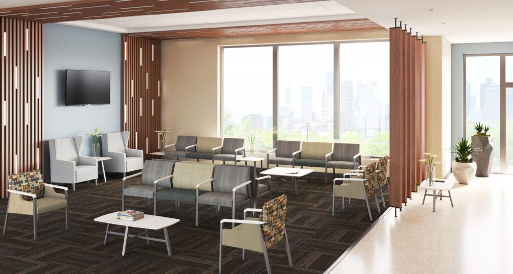 Waiting room rendering – Dan Binford